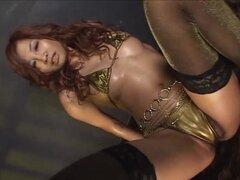 Bailarines eroticos aceite Micro Bikini compilación-01