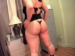 Esposa toma 12 pulgadas Black Cock,