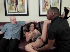 Cachonda esposa Blanca follada por BBC como su marido observa - Dava Foxx, Jon Jon