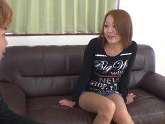Loca chica japonesa Asami Hoshikawa en JAV increíble sin censura pelicula MILFs,