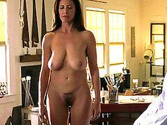 Viene muy bien en forma de mujer con grandes tetas naturales para el masaje