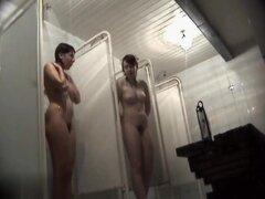 Hidden cameras in public pool showers 885,