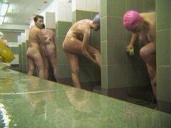 Ducha caliente ruso sala Voyeur Video 32,