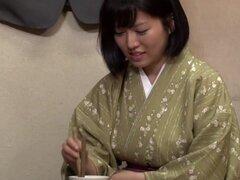 Caliente chica japonesa en público mejor, película HD JAV