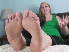 bbw feet soles