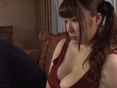 Japonesa caliente puta Chitose Saegusa en loco video JAV striptease público,