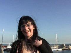 Desconocido chica española folla por dinero