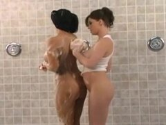 Chicas duchandose, chicas en la ducha. Chicas duchandose, chicas en la ducha