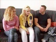 Porno Casting alemán