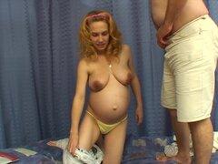 Mi novia cachonda ella quedó embarazada de un novio que la dejó