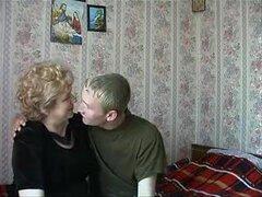 Ama de casa rusa con cam. Rusa madura
