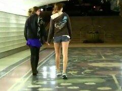 Clip de la historia de realidad con cachondas lesbianas Raylene y Romi
