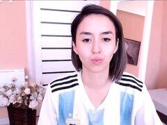 Caliente amateur adolescente webcam chica striptease