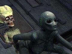 Sexy 3D dibujos animados alienígena nena follada duro por un marciano. Hermosa 3D dibujos animados extraterrestre vixen conseguir su coño mojado follada estilo perrito por un marciano