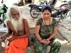 Baba con Bhabhi indio