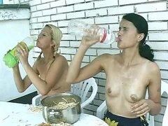 Chicas lesbianas meadas Video