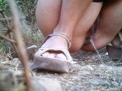 Chicas meando a voyeur video 169,