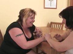 Mujer gorda sucia y su parte madura cachonda3