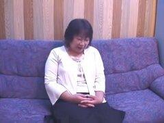 48 año viejo viciosa japonesa abuela amor sexo fetiche (censurado), una abuela japonés corpulento 48yo lindo con tetinas duras tetas grandes un lil estómago gran gazoo y unshaved coño juguetes adquiere su pie piel jugó está ligada con los ojos vendados hu
