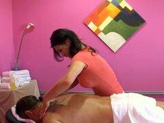 Increíble follada en masaje