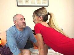 21Sextreme abuelo consigue afortunado con una bailarina