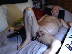 abuelo Stroke en Webcam