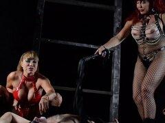 Ava y Vanessa son sexy amantes que saben manejar un esclavo - Ava Devine, Sexy Vanessa
