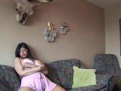 Indio - Sexy Curvy Jasmin Solo masturbación parte 1-5