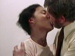 Loco mierda vintage estrella en película porno vintage