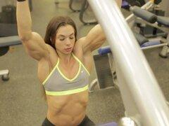 Chica Fitness trabajando (HD)
