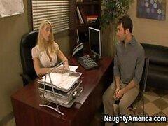Kagney Linn Karter y Shawna Lenee, Naughty oficina