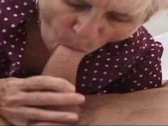 anciana follar joven