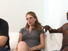 Sexo interracial pareja blanca