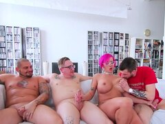 Kinky Dama de pelo rosado nalaa dufoxx adora jugar con todos los pollas duros en la habitación-nalaa dufoxx, All in, Jon Perignon, Rick Hard