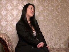 Exótica chica japonesa en caliente HD, película BDSM JAV