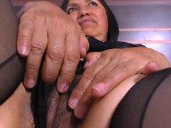 AgedLovE chica Latina madura cachonda sexo