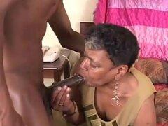 abuela negra porn