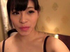 Fabulosa chica japonesa en medias más calientes, video de BDSM JAV