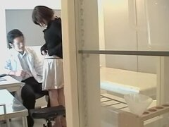 Pussy massage ends up with fuck session in japanese sex film, Asian sluts are horny all the time and they like to get a good drilling at the gyno clinic. In this spy cam porn video Noriko gets all wet after her big pussy is drilled in a very rough manner.
