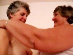 Pareja de lesbianas gorda vieja sucia