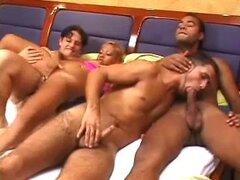 Trío Bisexual MMF 285