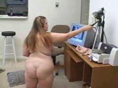 BBW delante de la webcam. BBW delante de la webcam