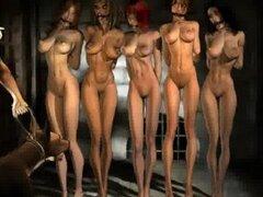 Artista BDSM Agan Medon ama a su mujer con tetas grandes y cintura delgada