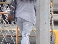 Madura culo (compilación), Una vergadera gama de Q-lotes sencillitos de MILF culo en la calle, una madura mujer mexicana