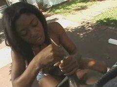 Handjob africano amándola