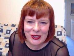 Pelirroja bbw tetas webcam. Bbw delicioso coño