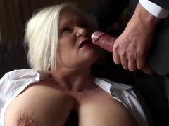 Mature blonde lady Lacey getting ready for Pascals cock. Mature blonde lady Lacey getting ready for Pascals cock
