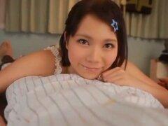 Japonesa caliente puta Yui Tsubaki en la película las adolescentes JAV