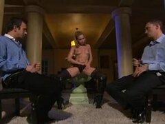 Puta sexy en pantimedias adquiere fuck orgía dp, película porno en el que un jefe rizado consigue a su secretaria que ama sesiones de hardcore gangbangs dp duro.