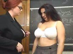 Gordas lesbianas jugar en escritorio